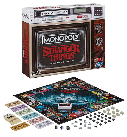 Stranger Things Monopoly Board Game [Collector's Edition]