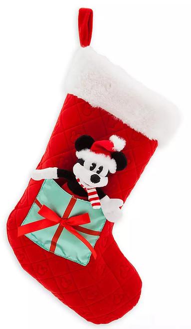 Disney 2019 Holiday Mickey Mouse Exclusive Plush Christmas Stocking [Mini Plush]