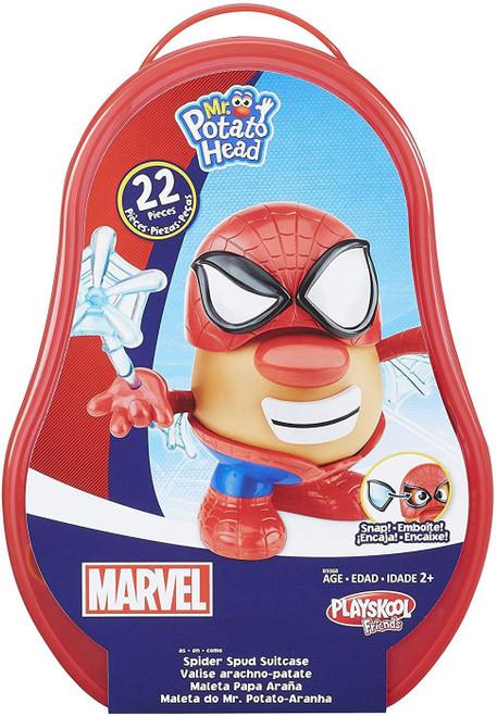 Marvel Playskool Friends Mr. Potato Head Spider Spud Suitcase Playset