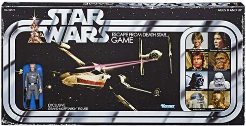 Star Wars Escape From Death Star Retro Board Game [Includes Exclusive Grand Moff Tarkin Figure!]