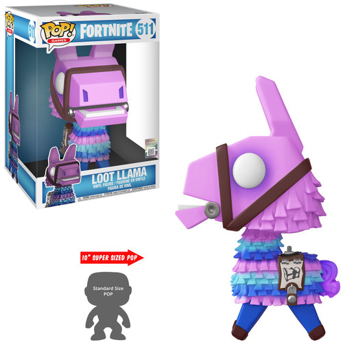 Funko Fortnite POP! Games Loot Llama 10-Inch Vinyl Figure #511 [Super-Sized, Damaged Package]