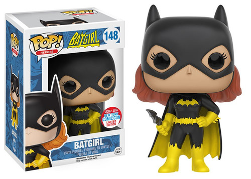 Funko Batman POP! Heroes Batgirl Exclusive Vinyl Figure #148 [NYCC 2016, Damaged Package]