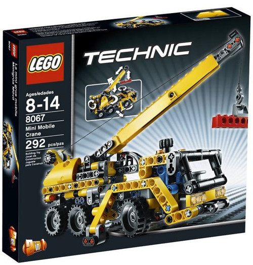LEGO Technic Mini Mobile Crane Set #8067 [Damaged Package]