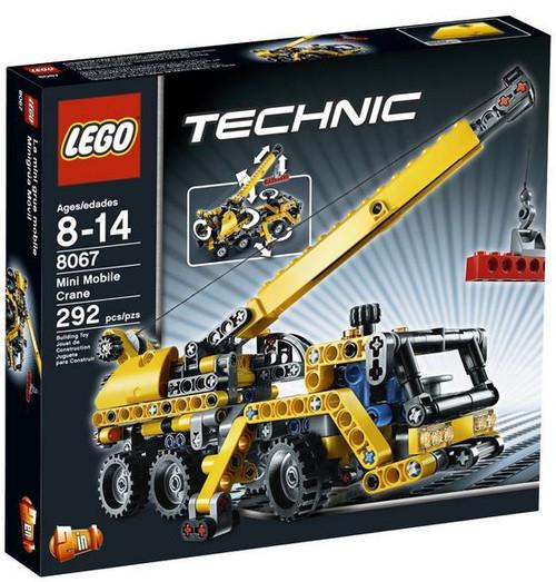LEGO Technic Mini Mobile Crane Set #8067 [Damaged Package]