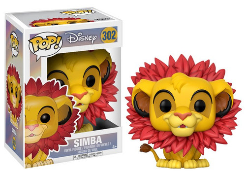 Funko The Lion King POP! Disney Simba Vinyl Figure #302 [Leaf Mane, Damaged Package]