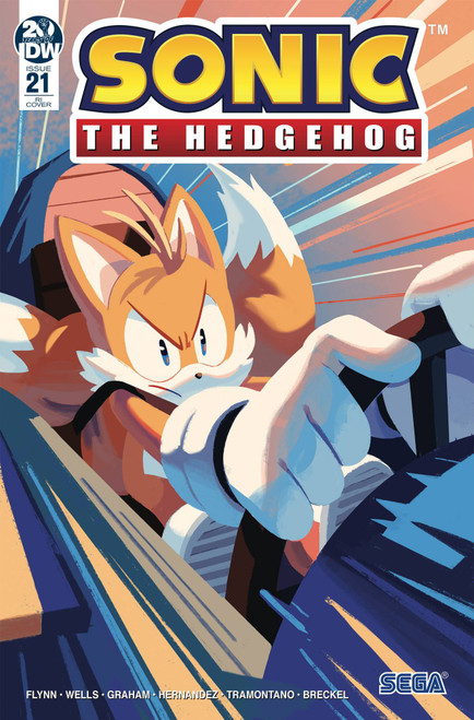 IDW Sonic The Hedgehog #21 Comic Book [Nathalie Fourdraine Variant Cover]
