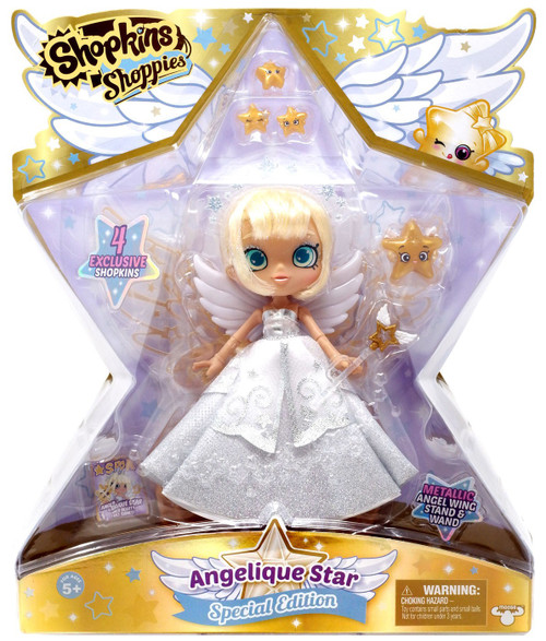 Shopkins Shoppies Angelique Star Doll Figure [Special Edition]