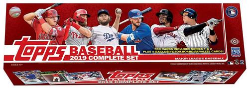MLB Topps 2019 Baseball Trading Card HOBBY Set [700 Cards Plus 5 Bonus Cards]