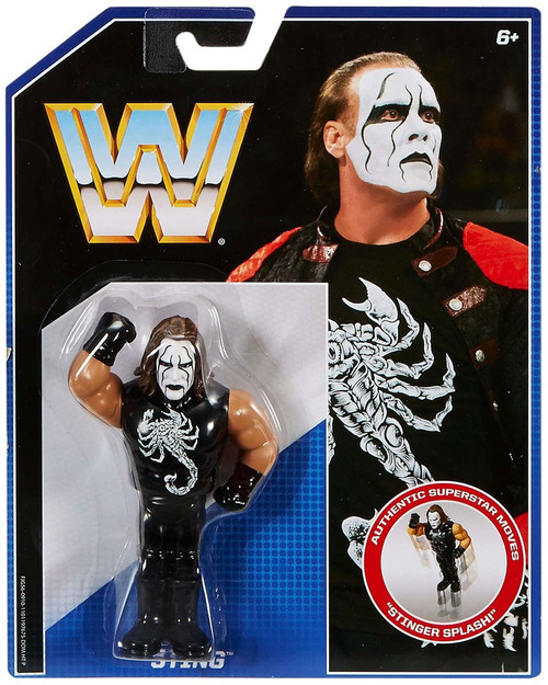WWE Wrestling Retro Sting Action Figure [White Face, Loose]