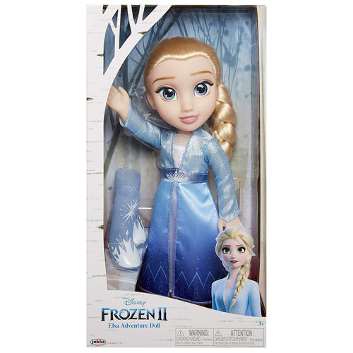 Disney Frozen 2 Elsa Adventure 14-Inch Doll