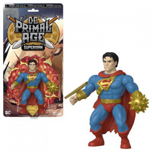 Funko DC Primal Age Superman Action Figure [Damaged Package]