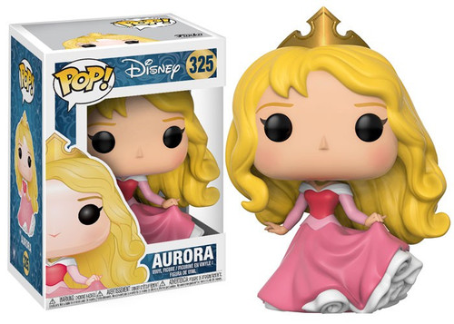 Funko Sleeping Beauty POP! Disney Aurora Vinyl Figure #325 [Pink Dress, Regular Version, Damaged Package]