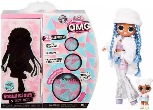 LOL Surprise Winter Disco OMG Snowlicious & Snow Angel Fashion Doll