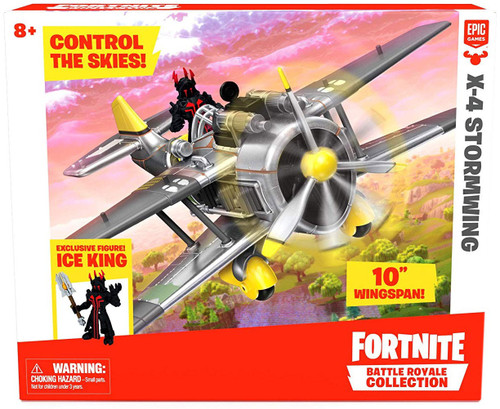 Fortnite Epic Games Battle Royale Collection X-4 Stormwing 2-Inch Vehicle & Mini Figure