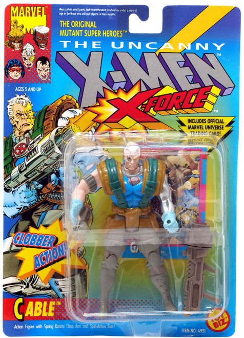Marvel The Uncanny X-Men X-Force Cable Action Figure [Clobber Action] [Moderate shelf wear]
