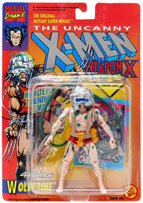 Marvel The Uncanny X-Men Weapon X Wolverine Action Figure [4th Edition] [Moderate shelf wear]