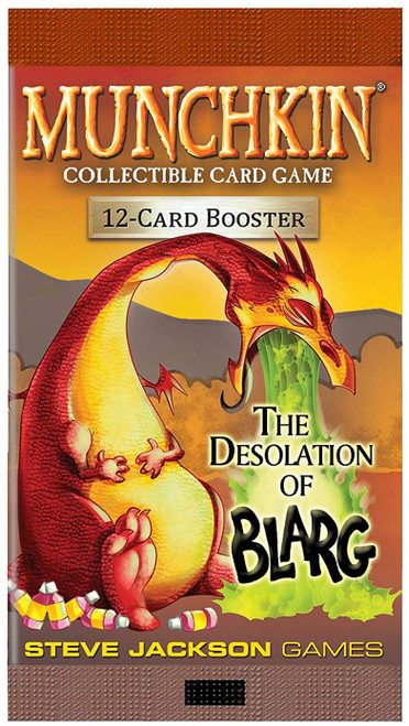 Munchkin The Desolation of Blarg Booster Pack [12 Cards]