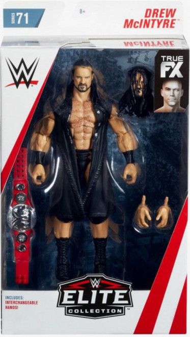 WWE Wrestling Elite Collection Series 71 Drew McIntyre Action Figure