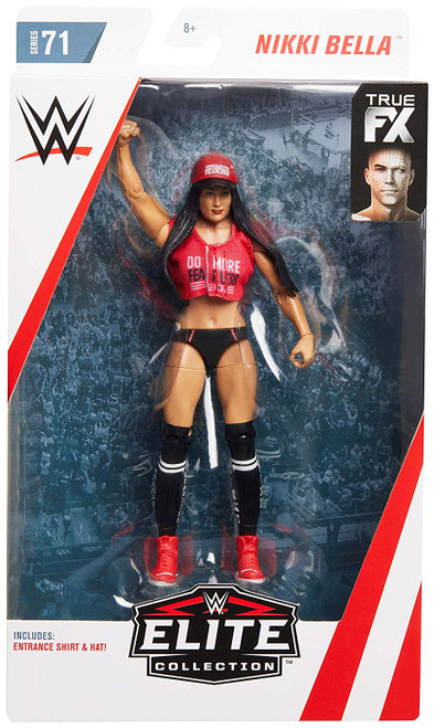 WWE Wrestling Elite Collection Series 71 Nikki Bella Action Figure [Red Fearless Top]