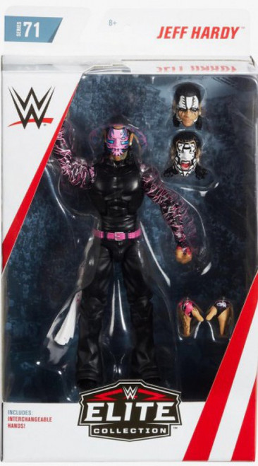 WWE Wrestling Elite Collection Series 71 Jeff Hardy Action Figure