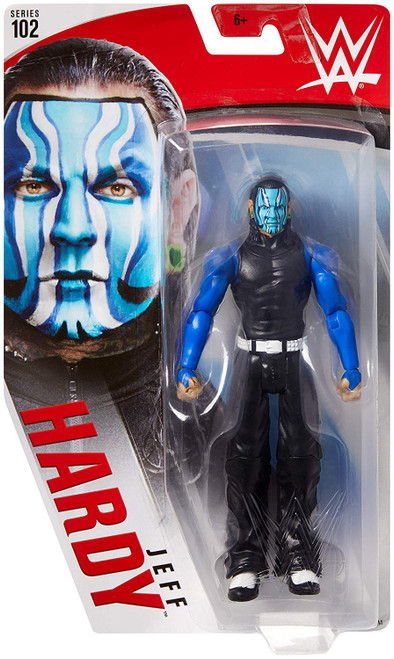 WWE Wrestling Series 102 Jeff Hardy Action Figure