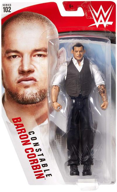 WWE Wrestling Series 102 Baron Corbin Action Figure [Constable]