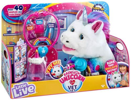 Little Live Pets Rainglow Unicorn Vet Set Electronic Pet