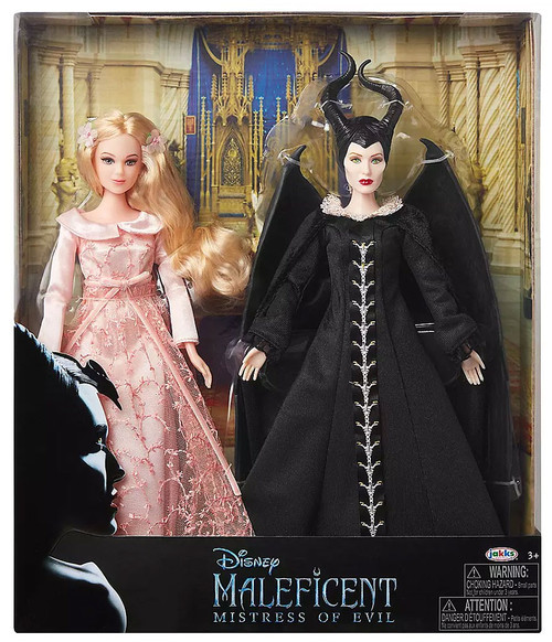 Maleficent Mistress of Evil Aurora & Maleficent 12-Inch Doll 2-Pack