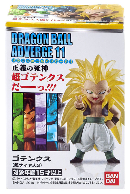 Dragon Ball Super Adverge Volume 11 Super Saiyan 3 Gotenks Mini Figure