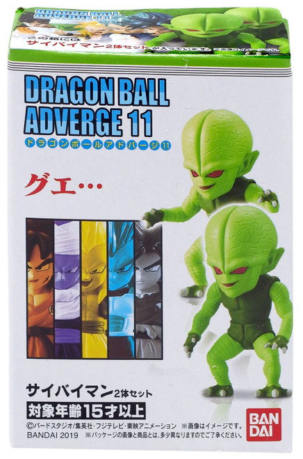 Dragon Ball Super Adverge Volume 11 Saibamen Mini Figure