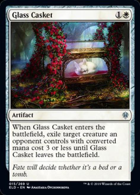 MtG Throne of Eldraine Uncommon Glass Casket #15