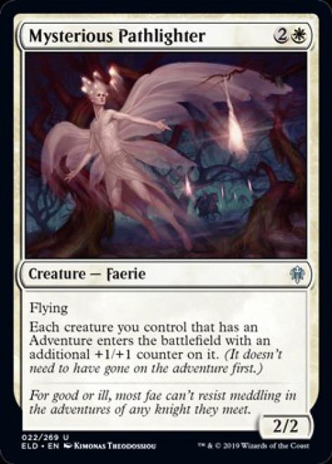 MtG Throne of Eldraine Uncommon Mysterious Pathlighter #22