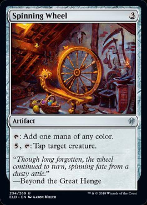 MtG Throne of Eldraine Uncommon Spinning Wheel #234