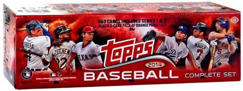 MLB 2014 Topps Baseball Trading Card HOBBY Set