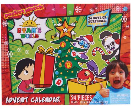 Ryan's World 24 Days of Surprises! Exclusive Advent Calendar