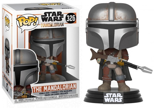 Funko POP! Star Wars The Mandalorian Vinyl Figure #326 [Amban Rifle]