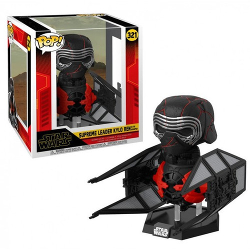 Funko The Rise of Skywalker POP! Star Wars Supreme Leader Kylo Ren Deluxe Vinyl Figure #321