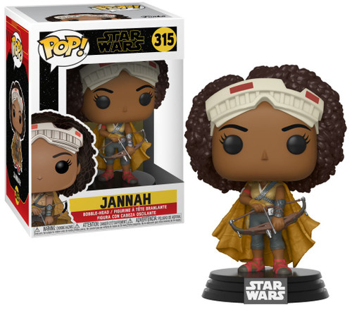Funko The Rise of Skywalker POP! Star Wars Jannah Vinyl Figure #315