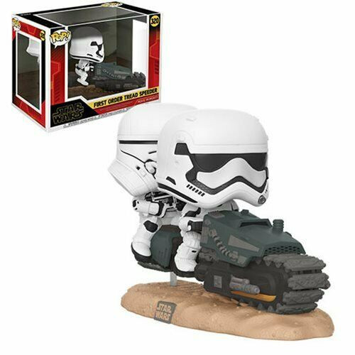 Funko Star Wars The Rise of Skywalker POP! Movie Moments First Order Tread Speeder Vinyl Figure #320