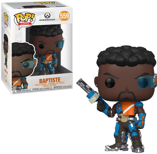 Funko Overwatch Pop! Games Baptiste Vinyl Figure #559
