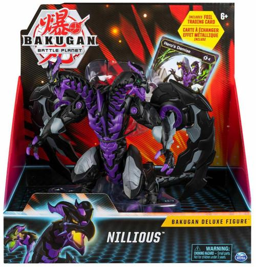 Bakugan Battle Planet Nillious Deluxe Action Figure