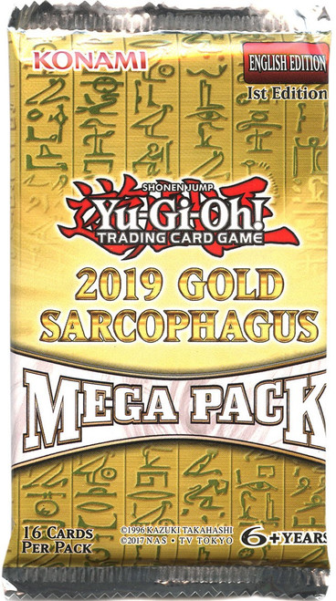 YuGiOh Gold Sarcophagus Mega Pack