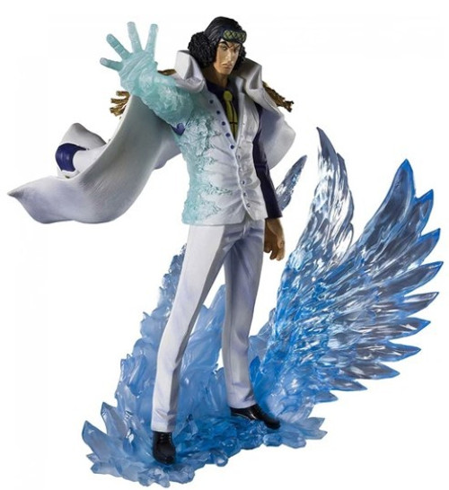 One Piece Figuarts ZERO Kuzan Aokiji 7.9-Inch Statue [The Three Admirals]