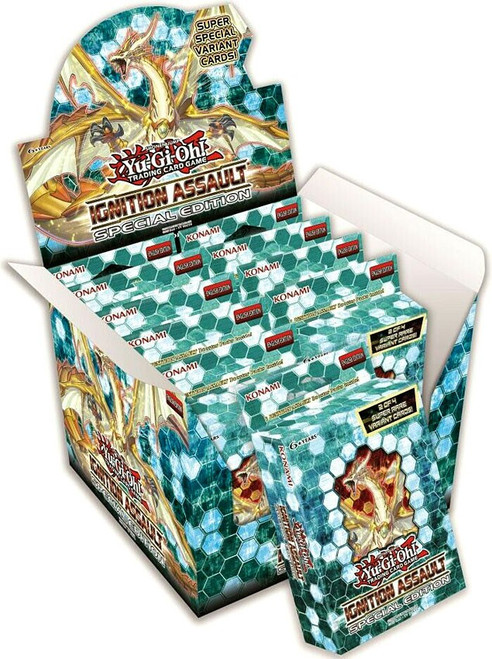 YuGiOh Trading Card Game Ignition Assault Special Edition DISPLAY Box [10 Units]