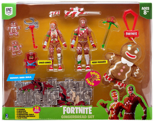 Fortnite Gingerbread Set Exclusive Action Figure 2-Pack [Merry Marauder & Ginger Gunner]
