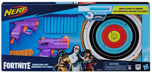NERF Fortnite Micro Shots Targeting Set Exclusive Dart Blaster