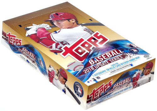 MLB Topps 2018 Update Baseball Trading Card HOBBY Box [36 Packs]