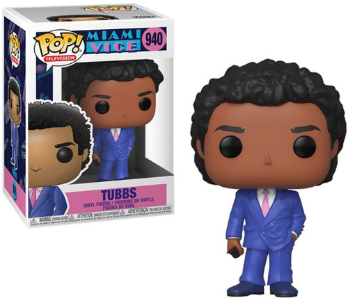 Funko Miami Vice POP! TV Tubbs Vinyl Figure #940