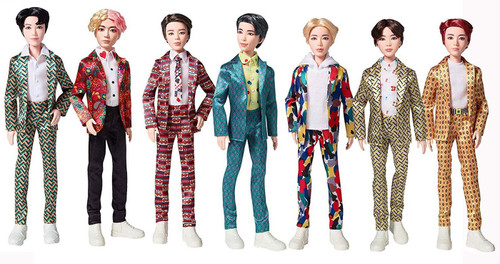 BTS 11-Inch Fashion Doll 7-Pack Gift Set