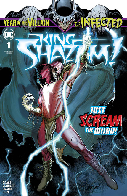 DC Infected #1 King Shazam!